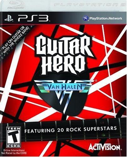 Guitar Hero Van Halen - Ps3 - Mídia Física - Lacrado - Nf