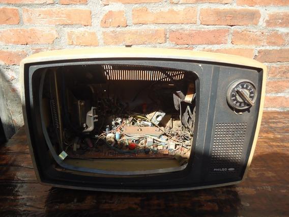 Para Aproveitar Peças Antiga Tv Philco Ford 12 Polegadas
