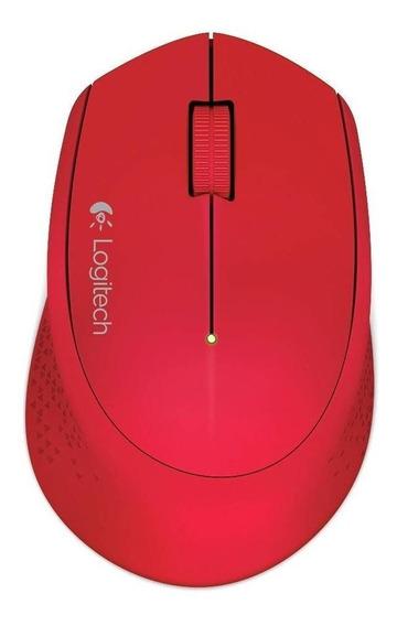 Mouse Logitech M280 vermelho