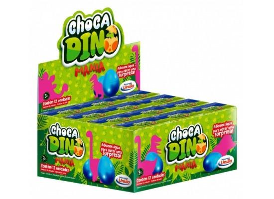 Ovo Choca Dino, Cresce Na Aguá.
