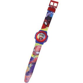 Relógio Infantil Digital Pulso Spiderman Homem Aranha Dtc