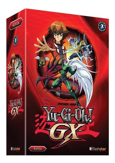 Yu-gi-oh! Gx - Box Com 4 Dvds - Novo - 13 Episódios