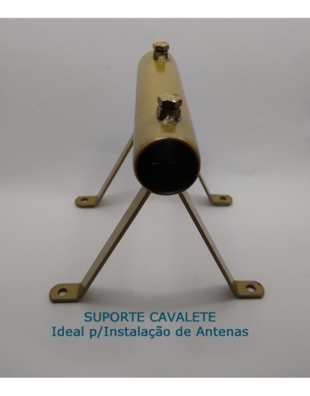 Kit (30) Suporte Cavalete C/tubo 1