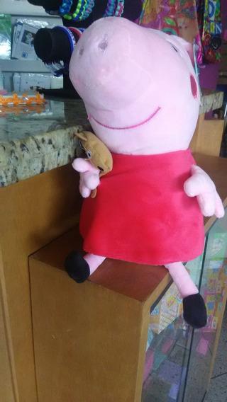 Peluches Importados De Peppa, George Pig, Mama Y Papa Pig