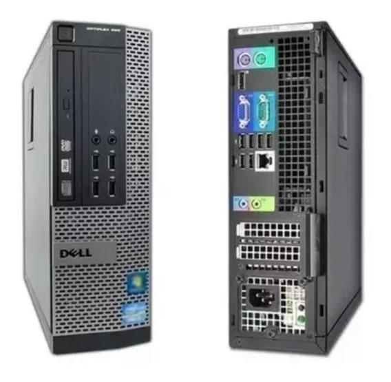 Pc Cpu Desktop Dell 3020 I5 4 Geração 4gb 500gb Win 7