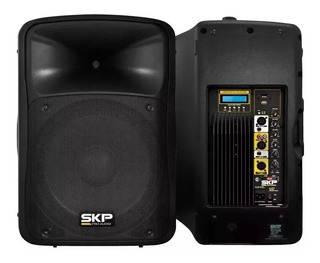 Bafle Activo Skp Sk5p Usb Mp3 Bluetooth Fm 250 Watts Rmp P