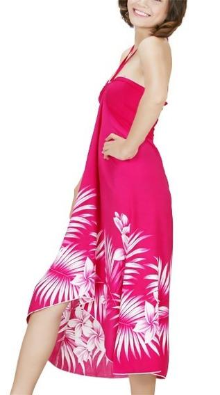 Vestido Hawaii Hojas Cononut Y Tipanie Envio Gratis