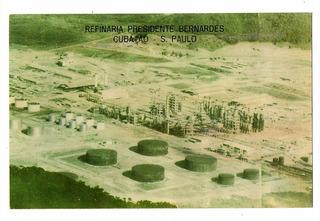 Cartao Postal Petrobras R Presidente Bernardes Cubatao ( 2 )