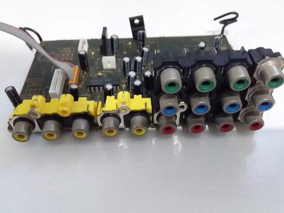 Receiver Sony Str-k1600 Placa Entrada De Video E Component