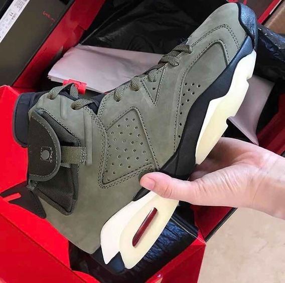 Air Jordan 6 Travis Scott Jack Cactus Varias Tallas