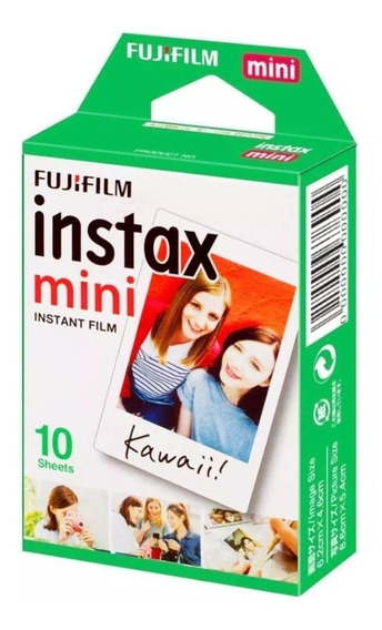 Papel Fotográfico Instax Mini Com 10
