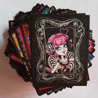 Figurinhas Avulsas - Álbum Monster High 2013 -10 Por R$8,00