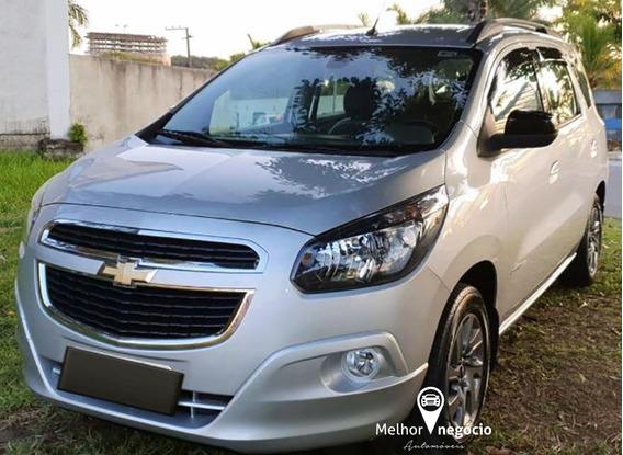 Chevrolet Spin Advantage 1.8 8v 5p Flex Aut. 2018 Prata