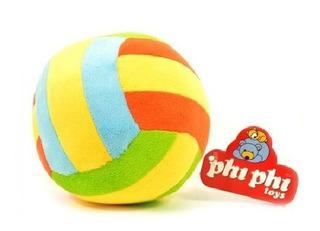 Pelota Con Sonajero De Peluche. Phi Phi Toys 8675