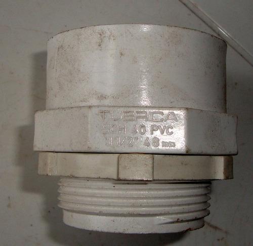 Conector Adaptador Terminal Conduit 1    PuLG 33  Trubrica