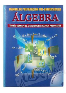 Libro De Álgebra Teoría Conceptos Y Ejercicios Resueltos