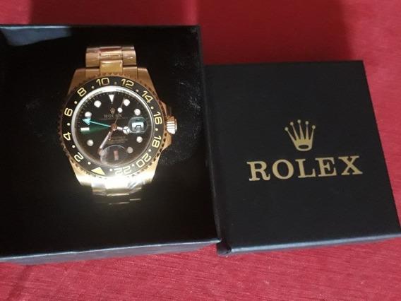 Relógio Rolex Automático Gold