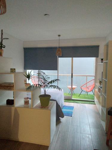 Departamento Monoambiente Nuevo, Impecable En Villa Crespo