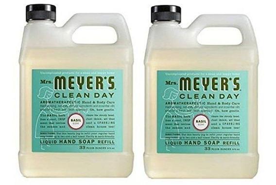 De La Señora Meyer Jabón Líquido De Recarga Día De Limpieza,