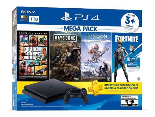 Consola Play Station 4 Mega Pack 6 Ps4 2058