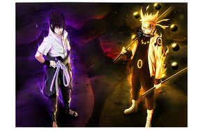 Naruto Shippudem (naruto & Sasuke Sennin Mode )