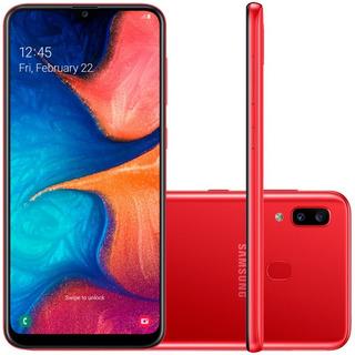 Smartphone Samsung Galaxy A20 32gb 6.4 3gb Câmera 13mp 5mp