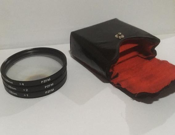 Canon - Lentes Cloese Up 58mm +1 +2 +4