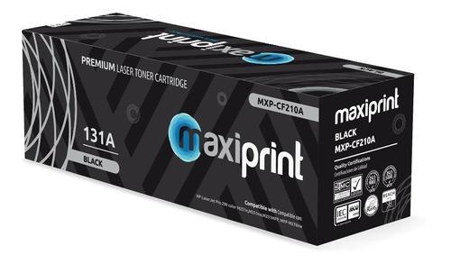 Toner Hp Cf210a 131a Compatible Maxiprint Pro 200 M251n