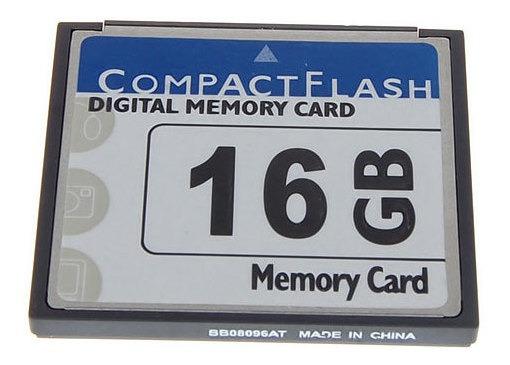 16gb Cf Cartão De Memória Digital Para Câmeras Celulares