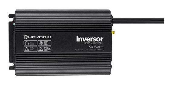 Inversor De Voltagem 12v 220v 150w Onda Modificada Hayonik