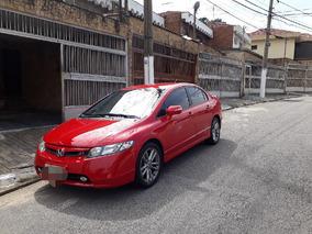 Honda Civic Si Vermelho - Único Dono ( Completo )