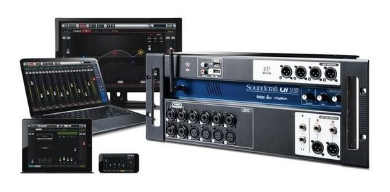 Mesa Digital Soundcraft Ui16 Wi-fi Nf-e Garantia 1 Ano Ui-16