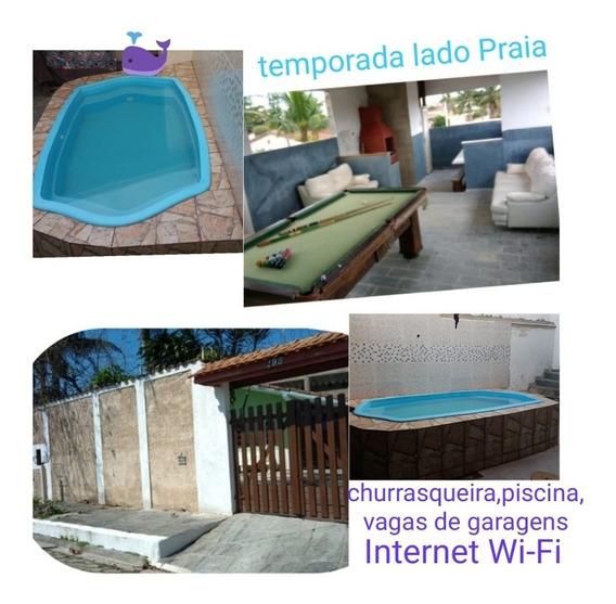 Temporada Casas Lado Praia Itanhaém