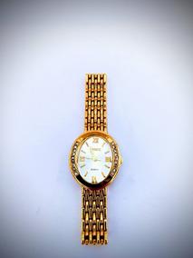 Relógio Feminino Dourado Pequeno