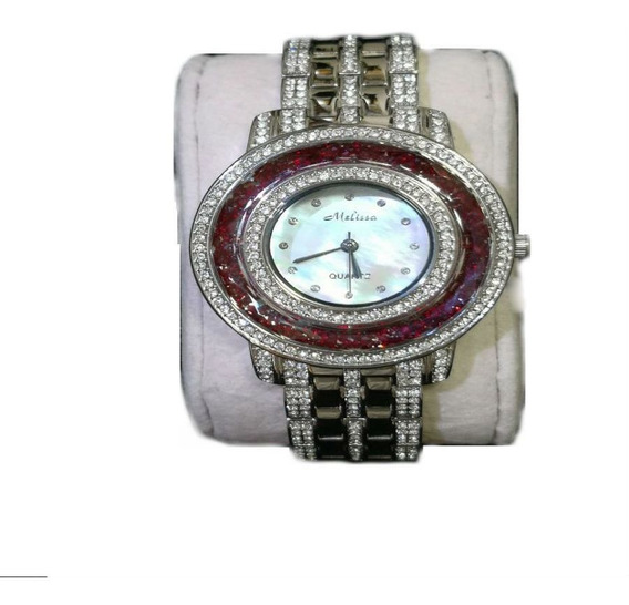 Relógio Feminino Japan Quartz - Cristal Swarovski Original