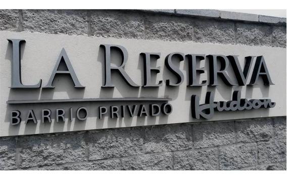 +lote En Venta - Barrio Priv. La Reserva De Hudson