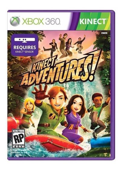 Jogo Kinect Adventures Para Xbox 360 X360 Mídia Física Game