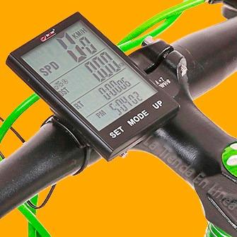 bf6355fa6 Nuevo Velocimetro Bicicleta Bogeer Inalambrico 4 Lineas 2.7` - $ 95.000 en Mercado  Libre