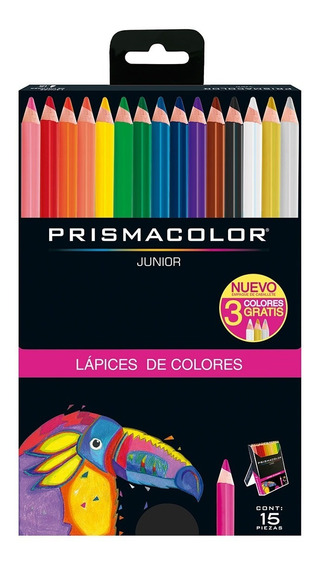 Colores Prismacolor Junior Redondos Caja X15 Punta 4mm