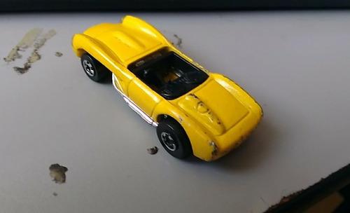 1990 Mattel Hot Wheels Malaysia Yellow Ferrari Convertible Mercado Libre