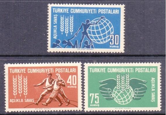 Turquia - 15917 - Campanha .contra .a Fome - Serie Nova