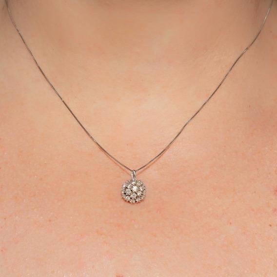 H Stern Colar Ouro 18k Diamantes Coleção Buquê De Diamantes