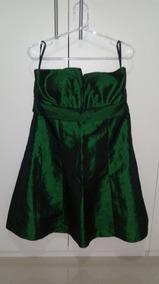 Vestido De Festa Tomara Que Caia Curto - Usado Uma Vez Lindo