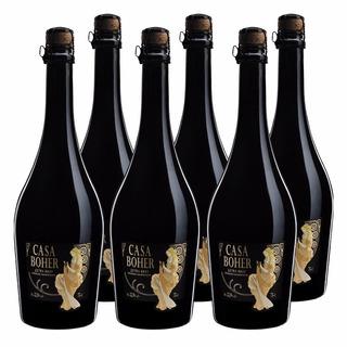 Champagne Casa Boher Extra Brut Espumante Caja Por 6