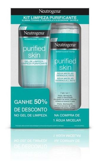 Solução Micelar Neutrogena Purified Skin 7 Em 1 200ml + 50%