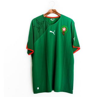 Camisa De Futebol Masculino Marrocos 2010 Puma 736014-17