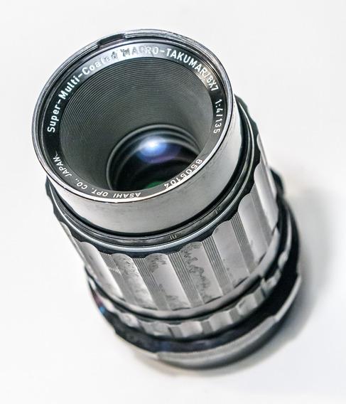Tele E Macro - Takumar 135mm F4 Para Pentax 67