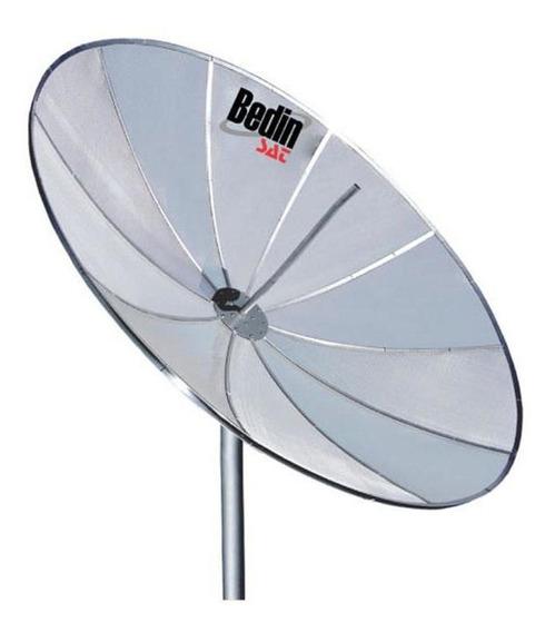 Antena Parabólica Tv 1,70m 10 Telas Fp170 Bedin Sat Alumínio