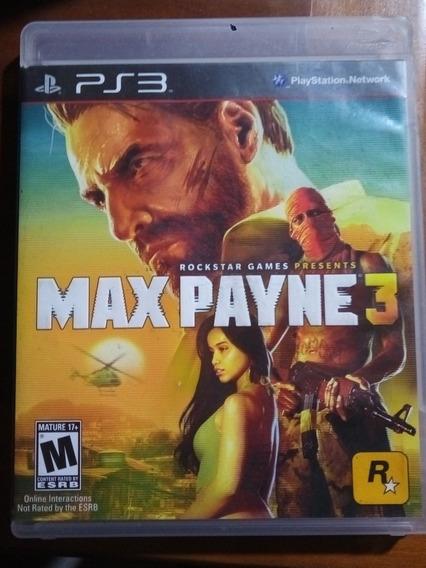 Jogo Usado Ps3 - Max Payne 3