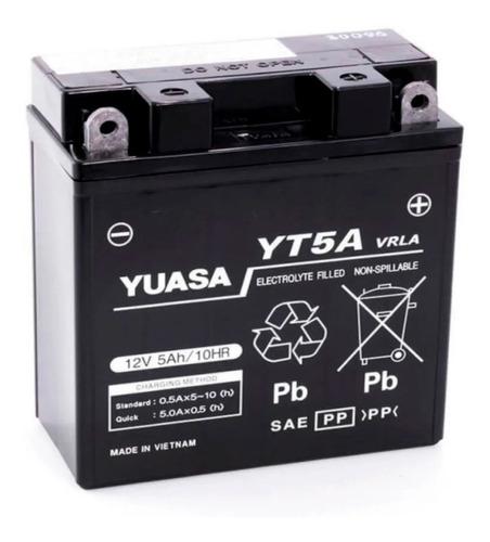 Imagen 1 de 1 de Bateria Yuasa Yt5a Yb5l-b Gel Yamaha Crypton T 105 - Sti